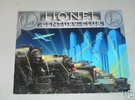 LIONEL 1996  CENTURY CLUB  CATALOG- NEW - $3.50