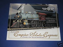 MTH 2005 4-4-0 EMPIRE STATE EXPRESS ENGINE BROCHURE - $3.50