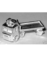 Sterling 925 Silver Charm Articulated Lorry Truck Charm - $39.33