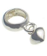 Welded Bliss Sterling 925 Silver Dangle Bead Charm Carrier, Hanger, Puff... - $18.15
