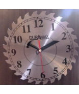 Stainless Steel Circular Blade Clock Duramax 9 and 3/4 Inches - $39.99