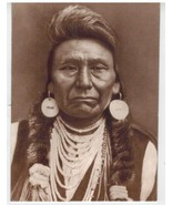 Chief Joseph Perce Vintage 11X14 Sepia Native American Memorabilia Photo - $9.95
