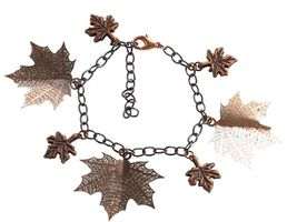 Maple leaves bracelets #FB00002 - $24.00