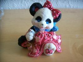 "1994 Enesco Pandannas ""Sew Much Love Fur You"" Figurine  - $18.00"
