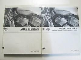 2004 Harley Davidson VRSC Service Repair Shop Manual & Elecrical OEM Books Set  - $197.99