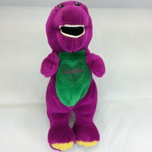 "Barney I Love You Plush Missing Singing Box 11"" Tall Purple - $14.80"