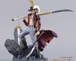 "Anime One Piece Dracule Mihawk PVC Action Figure Collection Toy 6""15CM"
