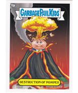 GARBAGE Pail Kids BNS1 ADAM BOMB THROUGH HISTORY **DESTRUCTION OF POMPEI... - $0.99