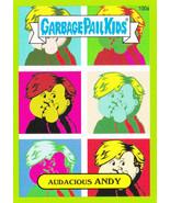 2014 Garbage Pail Kids Series 2 GREEN BORDER *AUDACIOUS ANDY* #100a - $0.99