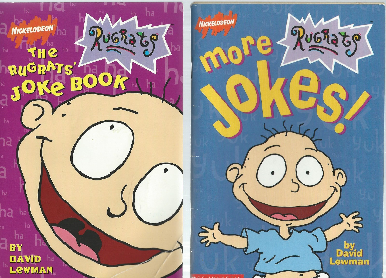 7)RUGRATS-JOKE BOOKS;ULTIMATE FAN BOOK;TURKEY;PASSOVER;SPACE INVADERS;BLAST OFF!