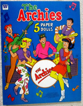 Vintage The Archies TV Cartoon Show uncut paper... - $19.99