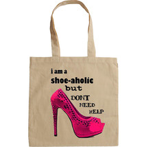 I AM A SHOE LOVER - NEW AMAZING GRAPHIC HAND BAG/TOTE BAG - $23.01