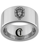 12mm Pipe Tungsten Carbide Laser W.O.W. Alliance Design Ring Sizes 5-15 - $49.00