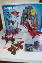 Playmobil 5840 Dragon Rock Knight Catapult Hors... - $19.95