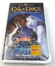 Cats & Dogs VHS Tape New Sealed Clamshell Case ... - $5.99