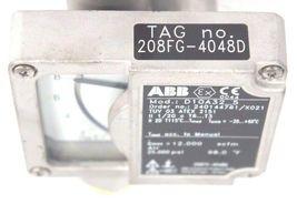 """NEW ABB D10A32-5 FLOWMETER 1/2"""" NPT ORDER NO. 240144761/X021 D10A325 image 4"""