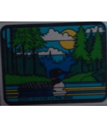 Vintage Mello Smello Large Duck Sticker Pine Trees Scented Sticker - $8.99