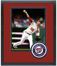 Doug Fister 2015 Washington Nationals -11 x 14 Team Logo Matted/Framed Photo - $43.55