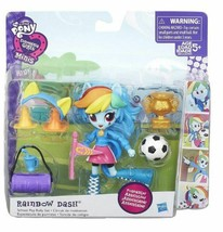 My Little Pony Equestria Girls Mini Rainbow Dash School Pep Rally Set & ... - $22.99