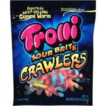 TROLLI Sour Brite Crawlers 30 oz Bag Gummi Packaged Candy New Gummi Candies - $19.99