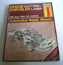Haynes Dodge Daytona  Chrysler 1984-1989 All mo... - $5.87