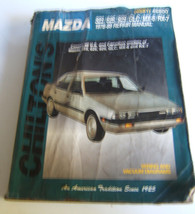 Chilton's Mazda 1978-89 Automotive  Repair Manual - $6.32