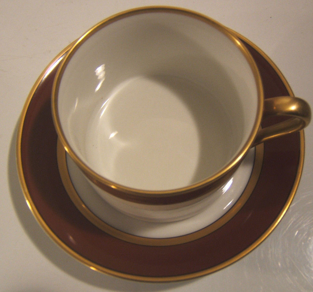 Primary image for Fitz & Floyd Renaissance Cinnabar Cup & Saucer