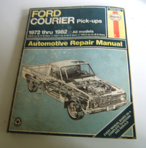Haynes Ford Courier Pick Ups 1972-1982  All models  Automotive  Repair M... - $6.32