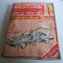 Haynes Ford Mustang & Mercury Capri Automotive  Repair Manual - $6.32