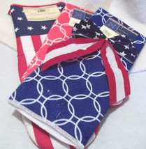 Patriotic Towels and Big Pot Holder Red White and Blue Celebrate Freedom - €5,14 EUR