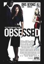 Obsessed 27 x 40 Original Movie Poster 2009 - $9.95
