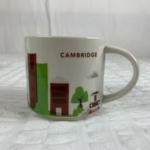 "STARBUCKS Cambridge ""You Are Here"" 2015 Collection Coffee Mug Cup EUC 14 Oz - $29.70"