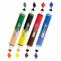 Set of 4 Elmer's Board Mate Dual Colors Thin Thick Tip Permanent Markers NEW image 4