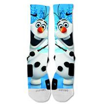 "Nike Elite socks custom Olaf frozen  ""Fast Shipping"" - $24.99"