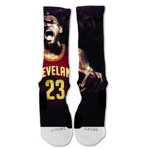 "Nike Elite socks custom Lebron James Cavs  ""Fast Shipping"" - $24.99"