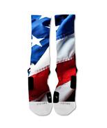 "Nike Elite socks custom American Flag  ""Fast Shipping"" - $24.99"