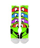 """Nike Elite socks custom Teenage Mutant Ninja Turtles  """"Fast Shipping"""" - $24.99"""