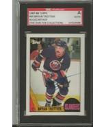 Bryan Trottier 1987 Topps Autograph #60 SGC Islanders - $39.15