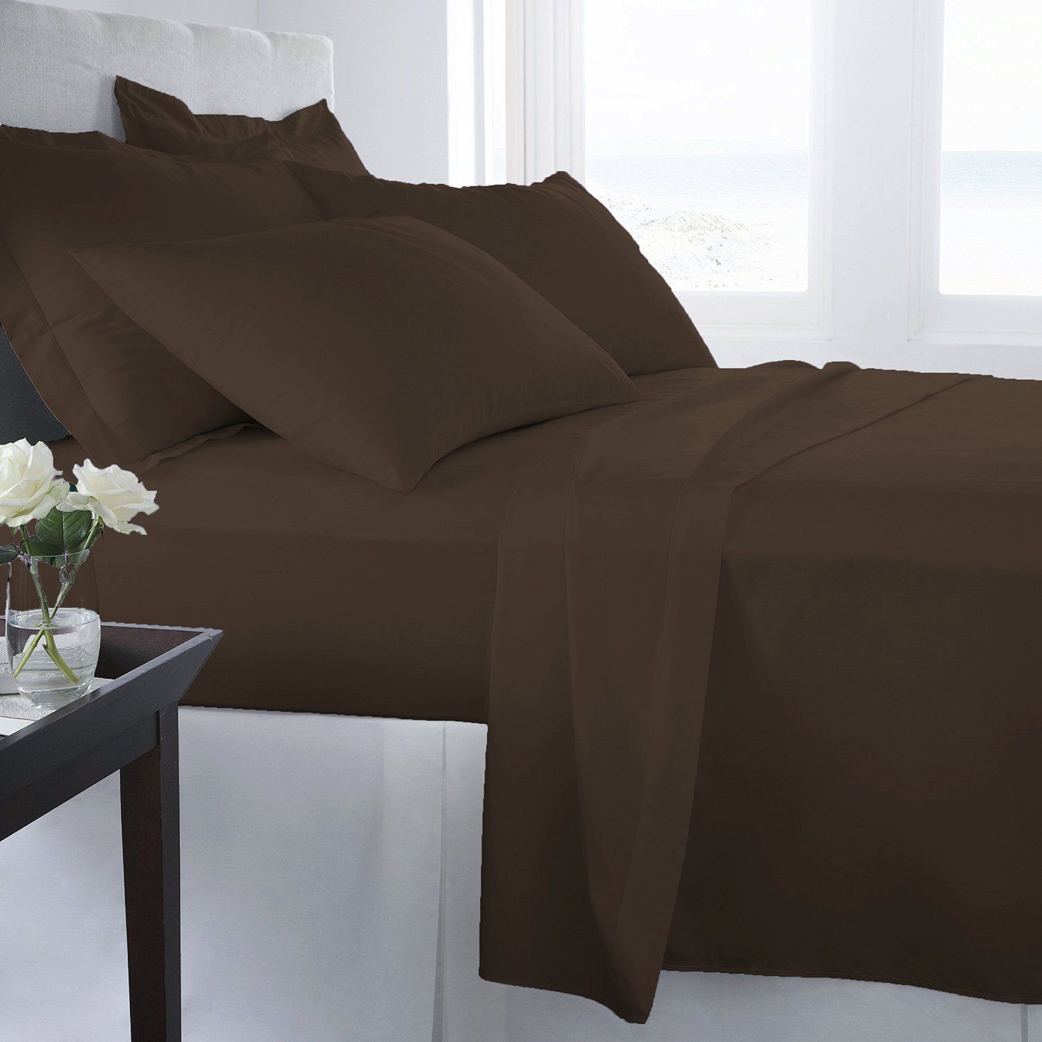 Better Homes And Gardens 300 Thread Count Wrinkle Free Sheet Set   $68.59