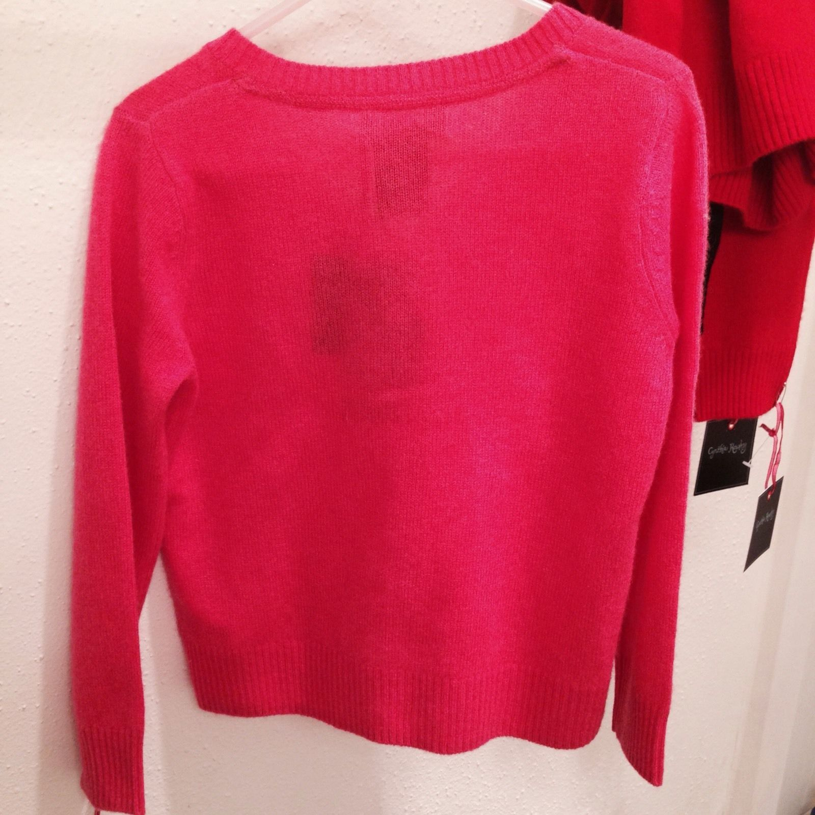 NWT-Boys Wonderkids Red Christmas Holiday Long Sleeve Argyle Sweater-sz 18 mths
