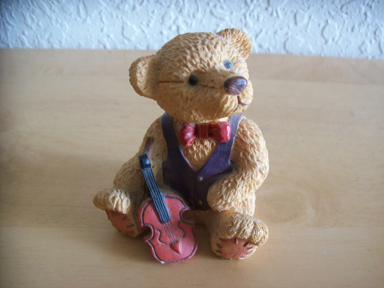 "Primary image for Take Me Home Teddies ""Victor the Violinist"" Figurine"