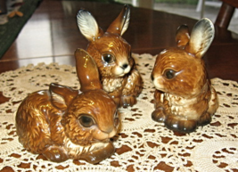VTG Goebel- Set of Three Rabbits-W. Germany- 1979-90 - $14.00