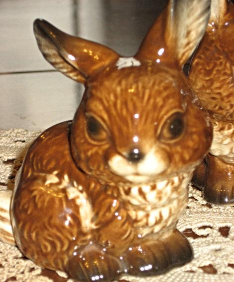 VTG Goebel- Set of Three Rabbits-W. Germany- 1979-90