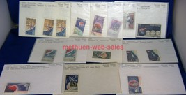 Stamps~Romania~1965,1967~Space Craft~Moon,Sputnik,Cosmanaut,Ranger,Voskh... - $7.00