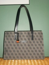 DOONEY & BOURKE Monogram Leather Shoulder Bag Purse with FOB - $68.00
