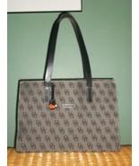 DOONEY & BOURKE Monogram Leather Shoulder Bag Purse with FOB - $68.00