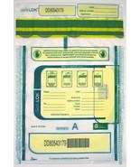SafeLOK 9 x 12 Security Deposit Bag, Clear, 1 Pocket, 500 Bags - $74.09