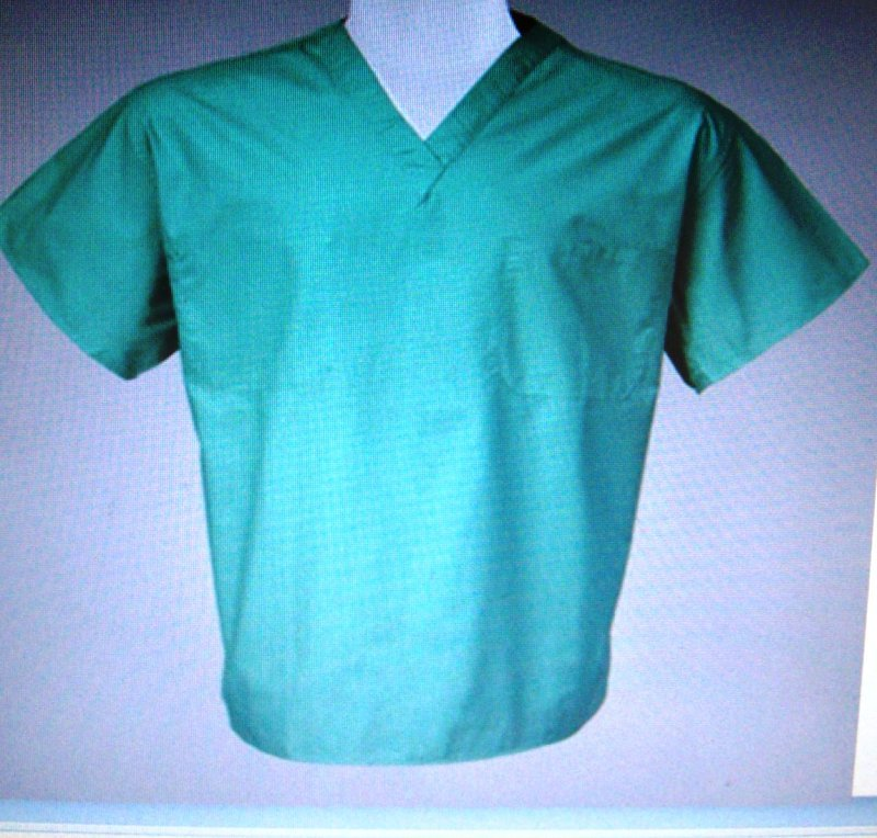 Woman/Men/Unisex Custom Design Scrub Top XL- 6X - $24.99