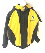 Starter Mens Pittsburgh Penguins Heavy Jacket Size XL - $118.79