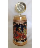 GERZ Lidded Stein W Germany Handcrafted Ceramic... - $31.99